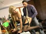 Lustful Secretary Taking Care Of Her Bosses Needs