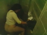 Teacher Caught Fucking a Student In A Toilet And Secretly Taped By His Friend