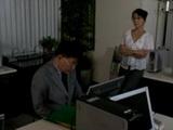 Harsh Boss Reiko Takami Abuse Guy at The Office