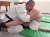 Judo Master In A Very Strange Way Teach The Girl How To Defend Against Rapists