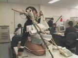 BDSM Humiliation At Japanese Office