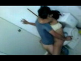 Teen Amateur Fucked In A Toilet During Party And Secretly Taped