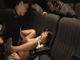 Japanese Girl Ogura Nana Made a Mistake By Going To The Cinema All Alone