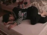 Sleeping Teen Violated By Her Step Brother Late at Night