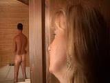Mature Mom Spy Man In  Shower