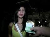 Czeh Teen Accepts Money In Exchange For Fuck In Public Garage