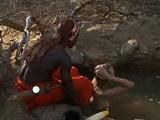 Forbidden Romance Between African Warrior And White Woman