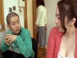 Japanese Mom Hardly Waited For Her Daughter To Leave The House So She Could Have A Chat With Her Cousin