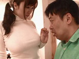 Busty MILF Bring Cookies To New Neighbor To Wish Him Good Welcoming And Charming Him With Her Big Boobs