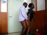 Real African Secretary Fucked By Her Boss In The Office