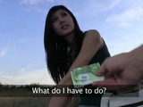 Cute Teen Accepted Blowjob and Fucking With a Stranger for Some Money
