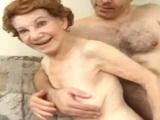 70 Year Old Grandma Gets Fucked Hard