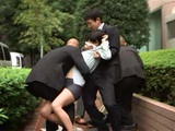 Debt Collectors Brutalized Poor Wife HakuSaki Aoi As A Message To Her Husband