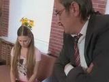 Perverted Teacher Fucks Teen Schoolgirl For Better Grades