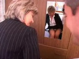 French Estate Agent Provoked House Owner to Rip her Mature Ass