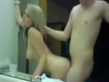 Blonde Girlfriend Gets Fuck From Behind And Cum In Pussy