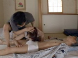 Worried Son Though That Good Blowjob Will Heal His Sick Father So He Brought Poor Nurse To Do That