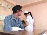 Busty Nurse Julia Swooped and Fucked By One Of Her Patients At the Hospital