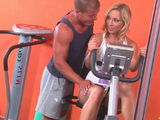 Personal Trainer Could Not Remain Calm Next To This Provocative Girl