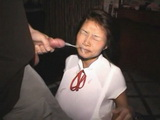 Amateur Asian Teen Gets Messy Facial Cumshot