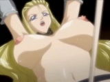 Tied Busty Hentai Girl Riding A Hard Cock