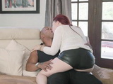 Redhead Spoiled Stepdaughter Use To Have Everything She Desire