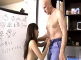 Chinese Exchange Student Isnt So Good In Learning But She Shows Without Shame Hidden Skills She Has To Professor