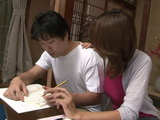 Hot Stepmom Airi Tachibana Gets Punished For Ruining Studying Concentration Of Her Teen Stepson