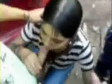 Cute Latina Village Teen Giving Blowjob To All of her Classmates