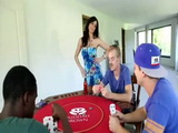 Old Hubby Will Never Play Poker Again With A Milf Wifes Pussy As a Stake