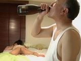 Passed Out  Lady Koi Azumi Gets Fucked By her Perverted Neighbor While Out Of Conscious