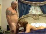 Grandpa Loves Fucking A Wet Teen Pussy
