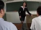 Milf Teacher Kaoru Natsuki Knows How To Reward Good Students