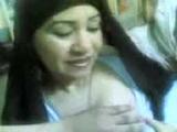 Arab Muslim Hijab Mature Woman Showing Boobs