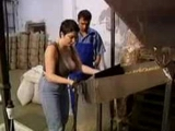 Busty Worker Gets Fucked In A Factory By Her Boss