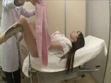 Shy Girl at Challenging Gynecologist