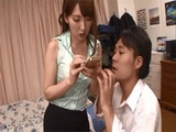 Busty Hatano Yui Finds Sexy Photos Of Her In Her Friends Phone