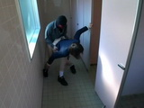 Japanese Teen Coed Schoolgirl Gets Fucked In Public Toilet By Masked Guy