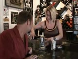 Guy Picks Up A Bartender And Fucks Her Badly