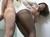 Hot Dry Sex With Busty Office Lady In Pantyhose