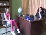Shy Teen Gets Fucked At Principal Office