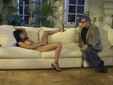 Sissy Hubby Watch His Ebony Wife Fucks With A Guy He Hired