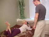Russian Blonde Mom Fucked After A Phone Call