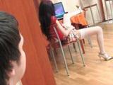 Boy Caught Girlfriends Sister Masturbating