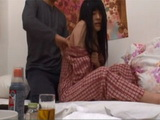 Step Dad Took Advantage Of A Sick Japanese Teen