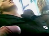 Amateur Guy Abuse With Dick and Cum on Sleeping Woman In Bus
