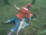 Classmates Gets Busted Fucking In A Field