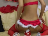 Santa Allures With New Year Costume Anal Sex