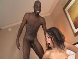 Ebony Hooker Afraid Of Black Mans Huge Cock