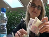 Blonde Czech Teen Talked Into Sex By Stranger For Some Cash